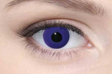 LIEBEVUE Colour Accent Purple – Farbige Kontaktlinsen – Cosplay – 3 Monate – 2 Stück