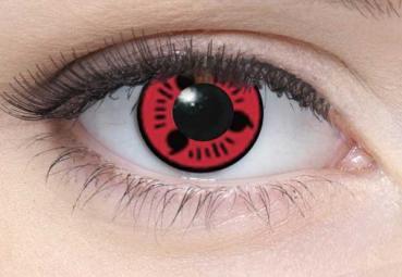 LIEBEVUE Itachi Series: Sharingan 2 – Farbige Kontaktlinsen – Cosplay – 3 Monate – 2 Stück